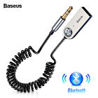 Baseus USB Bluetooth 5.0 Adapter Dongle Cable For Car 3.5mm Jack Aux Receiver as