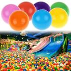 100pcs Colorful Plastic Ball Pit Balls Crush Proof Ocean Ball Baby Kids Toy Game