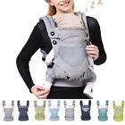 Newborn Infant Baby Carrier Breathable Wrap Sling Backpack Four Position /
