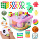 Sensory Fidget Toys Set, 27pcs Stress Relief and Anti-Anxiety Tools Bundle for