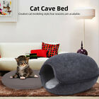 Cat Cave Bed Pet Dog kitten for Indoor Cozy House Cat Bed Igloo Warm Nest Kennel