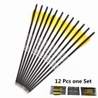 20 INCH Carbon Arrows 8.8mm Crossbow Bolts For Crossbow Hunting Archery Quiver