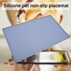 Pet Puppy Silicone  Feeding Food Mat Dog Cat Non Slip Bowl Placemat Waterproof