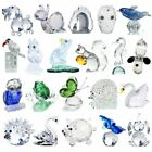 Crystal Animal Figurines Collection Cut Glass Ornaments Statue Home Decor Favors