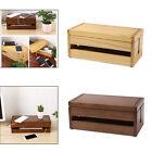1pc Cable Management Box Wood Cord Organizer Case Cord Power Hider Home