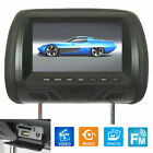 Universal 7 Inch Car Headrest Monitor Rear Seat Video Player HD TV US NEW Hot