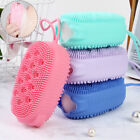 Silicone Body Scrubber Massage Brush Cleaning Tools Shower Brush Backrubbing