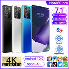 Note80 Pro 7.1'' Smart Phone Android 10.0 8g+128gb 10 Core Dual Sim Unlocked Hot