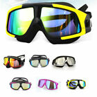 Swimming Goggles Comfortable Silicone Large Frame Anti-Fog UV Swim Mask Adult