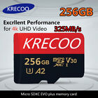 256GB Ultra Micro Memory SD Card SDXC High-Speed 325MB/s HD Class10 TF Card SDHC
