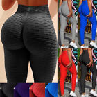 Womens Yoga Pants Butt Lift Leggings Sports Gym Fitness Anti Cellulite Trousers