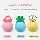 Cat Toy Ball Interactive Cat Kicker Toy Lifelike Animal Chirping Sounds Ball