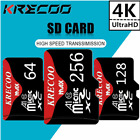 256GB Micro Memory SD Card 4K Class10 Flash TF Card with Adapter For Phone USA