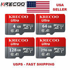 256GB Micro Memory SD Card Fast 4K Class 10 Flash TF Card for Car Camera Phone