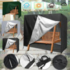 Outdoor Patio Furniture Cover Waterproof Sunshade Garden Swing Chair Cover 3Seat