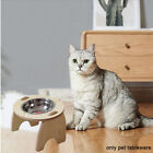 Raised Cat Bowl Feeding Watering Tilted Dog With Stand Home Easy Clean Pet
