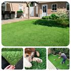 15mm Artificial Grass Top Quality Garden Green Lawn Astro Turf Low Pile 4 Metres