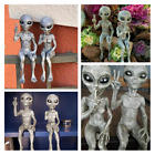 Whimsy Resin Outer Space Alien Ornament Garden Statue Figurine Home Decor Gift