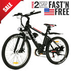27.5''+26'' Electric Bike Mountain Bicycle EBike Shimano 21Speed 36V/48V/Battery