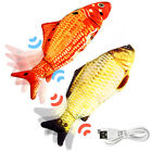 Electric Dancing Fish Kicker Cat Toy Wagging Realistic Moves USB Rechargeable 2