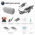 Mini Drone 4K HD Wide Angle Camera 1080P Wifi Fpv Dual Height Drones Helicopter