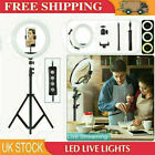 """12"""" LED Ring Light with 1.6M Stand for Youtube Tiktok Makeup Video Phone Selfie"""
