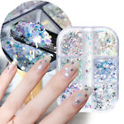 Hexagon Chunky Holographic Nail Sequins Summer Glitter Flakes Star Moon