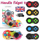 Sensory Fidget Toys Game Controller Pad Keychain ADHD Autism Stress Relief Gifts