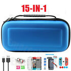 15 IN 1 For Nintendo Switch Carry Case Travel Bag Protective Cover + Accessories