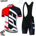 Summer team Cycling Jersey Set Mens Clothing Bike Clothes Clothing Breathable