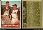 1961 Topps #250 Vern Law / Roy Face - Buc Hill Aces Pirates 3 - VG