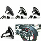 Universal Motorcycle Cover Rear Mudguards Fender Fits Suzuki For Honda F5#