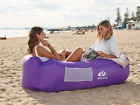 Inflatable Blow Up Lounger-Air Sofa Hammock-Portable,Water Proof-Anti-Air Leakin