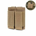 Military Tactical Bag Modular Double Magazine Molle Pouch Pistol Mag Holder US