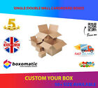 New Recycled Single & Double Wall Cardboard Postal Packing Boxes - ALL SIZE FREE