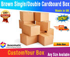 NEW CARDBOARD POSTAL PACKAGING PARCEL BOXES - MADE FROM  RECYCLED PAPER - DPD