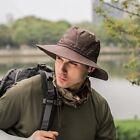 Unisex Air Holes Bucket Hat Sun Protection Fishing Camping Summer Outdoor