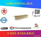 Postal Cardboard Boxes Long Mailing Shipping Carton All sizes Brown