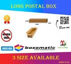 Long White Die Cut Strong Cardboard Postal Shipping Boxes