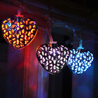 Heart Garland String 10 LED Lights Battery Operated Wedding Home Christmas 3.9FT