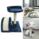 4 Color Cat Tree Scratching Post Scratcher Activity Play Centre Kitten Toys UK