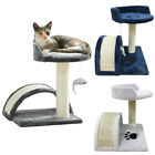 Cat Scratching Post Tree Climbing Activity Centre Scratcher Tower Sisal Bed Toys