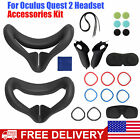 Silicone Eye Mask Face Cushion+Grip Cover+Lens Cap For Oculus Quest 2 VR Headset