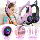 3.5mm LED Wired Gaming Headset Stereo Bass w/Mic Headphone for XBOX One PS4 PC