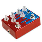 Caline Guitar Effects Pedal Single Distortion Duble Overdrive Reverb True Bypass