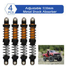 Set Of 4 Shock Absorber For Axial Scx10 90046 Trx6 Rc Car Vehicle Parts Gold